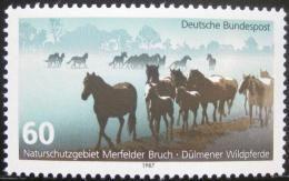 Poštovní známka Nìmecko 1987 Divocí konì Mi# 1328