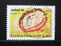 Poštovní známka Finsko 1996 UNICEF, 50. výroèí Mi# 1331