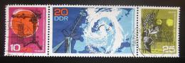 Poštovní známky DDR 1968 Meteorologická observatoø Mi# 1343-45