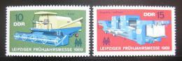 Poštovní známky DDR 1969 Lipský veletrh Mi# 1448-49