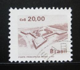 Poštovní známka Brazílie 1987 Architektura Mi# 2228