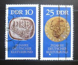 Poštovní známky DDR 1970 Nìmecký kulturní spolek Mi# 1592-93 Kat 10€