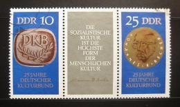 Poštovní známky DDR 1970 Nìmecký kulturní spolek Mi# 1592-93 Kat 20€