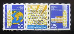 Poštovní známky DDR 1970 Potravinový kongres Mi# 1575-76 Kat 9€