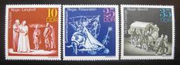 Poštovní známky DDR 1973 Divadelní produkce Mi# 1850-52