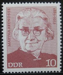 Poštovní známka DDR 1975 Martha Arendsee Mi# 2012