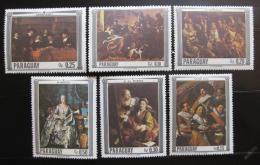 Poštovní známky Paraguay 1967 Umìní Mi# 1747-52
