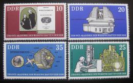 Poštovní známky DDR 1975 Akademie vìd Mi# 2061-64