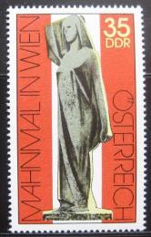 Poštovní známka DDR 1975 Váleèný památník Mi# 2093