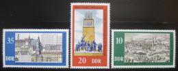Poštovní známky DDR 1975 Výmar milénium Mi# 2086-88