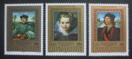 Poštovní známky Lichtenštejnsko 1985 Umìní Mi# 881-83 Kat 5€