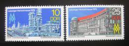 Poštovní známky DDR 1976 Lipský veletrh Mi# 2161-62