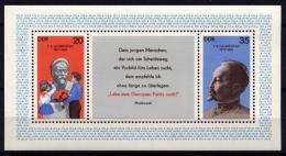 Poštovní známky DDR 1977 Ruská tajná policie Mi# Block 49