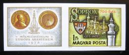 Poštovní známky Maïarsko 1977 Sopron neperf. Mi# 3206 B Kat 30€