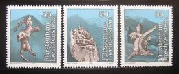 Poštovní známky Lichtenštejnsko 1984 Pohádky Mi# 843-45