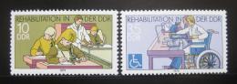 Poštovní známky DDR 1979 Rehabilitace Mi# 2431-32