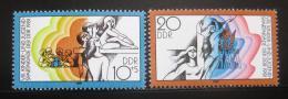 Poštovní známky DDR 1981 Spartakiáda mládeže Mi# 2617-18