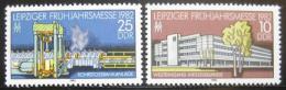 Poštovní známky DDR 1982 Lipský veletrh Mi# 2683-84