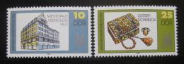 Poštovní známky DDR 1982 Lipský veletrh Mi# 2733-34