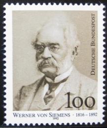 Poštovní známka Nìmecko 1992 Werner von Siemens Mi# 1642