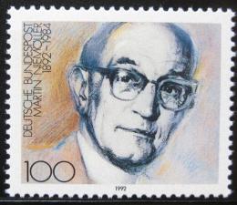 Poštovní známka Nìmecko 1992 Martin Niemoller Mi# 1584