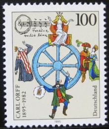 Poštovní známka Nìmecko 1995 Carl Orff, skladatel Mi# 1806