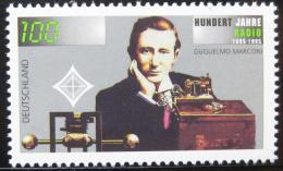 Poštovní známka Nìmecko 1995 Století rádia Mi# 1803