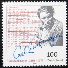 Poštovní známka Nìmecko 1996 Carl Zuckmayer Mi# 1893