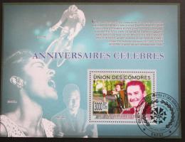 Poštovní známka Komory 2009 Velká výroèí Mi# Block 501 Kat 15€