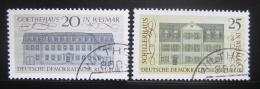 Poštovní známky DDR 1967 Klasický humanismus Mi# 1329-30