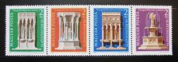 Poštovní známky Maïarsko 1975 Architektura Mi# 3060-63