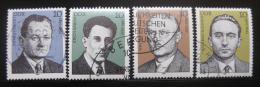 Poštovní známky DDR 1981 Osobnosti Mi# 2589-92