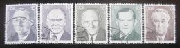 Poštovní známky DDR 1983 Osobnosti Mi# 2765-69
