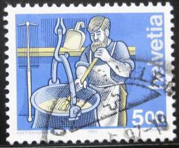 Poštovní známka Švýcarsko 1993 Výrobce sýrù Mi# 1510 Kat 5.50€