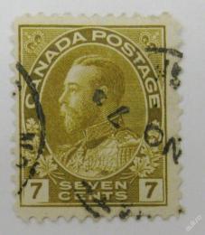 Poštovní známka Kanada 1911 Král Jiøí V Mi# 96 Kat 4.80€