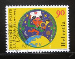 Poštovní známka Švýcarsko 1999 Výroèí pošty Mi# 1672