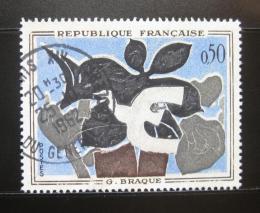 Poštovní známka Francie 1961 Umìní, Braque Mi# 1372