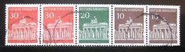 Poštovní známky Nìmecko 1967 Brandenburská brána SC# 952a