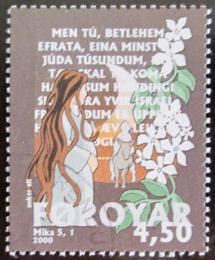 Poštovní známka Faerské ostrovy 2000 Bibické pøíbìhy Mi# 385