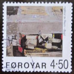 Poštovní známka Faerské ostrovy 1999 Umìní Mi# 362