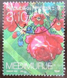 Poštovní známka Chorvatsko 2010 Vyšívání Mi# 937
