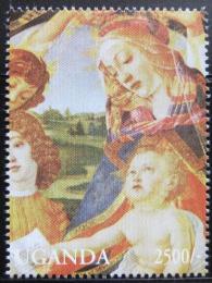 Poštovní známka Uganda 1994 Umìní Mi# 1451