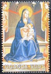 Poštovní známka Uganda 1989 Umìní Mi# 761