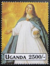 Poštovní známka Uganda 1992 Umìní Mi# 1174