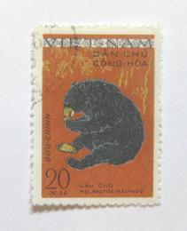 Poštovní známka Vietnam 1961 Helarctos malynus Mi# 155