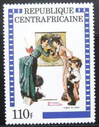 Poštovní známka SAR 1982 Ilustrace, Norman Rockwel Mi# 823