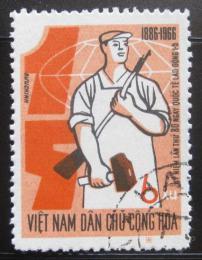 Poštovní známka Vietnam 1966 První Máj Mi# 443