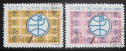 Poštovní známky Vietnam 1979 Výstava Philaserdica Mi# 1038-39