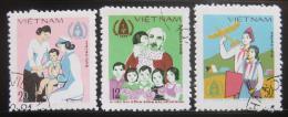 Poštovní známky Vietnam 1979 Mezinárodní rok dìtí Mi# 1040-42