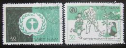 Poštovní známky Vietnam 1982 Den životního prostøedí Mi# 1255-56